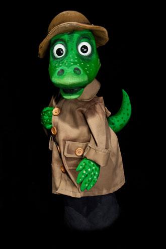 Фото куклы Крокодил Гена